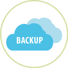 Illustration BackUP Cloud